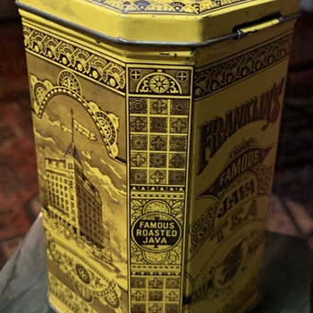 Victorian Advertising Tin in Near Perfect Condition - Advertising