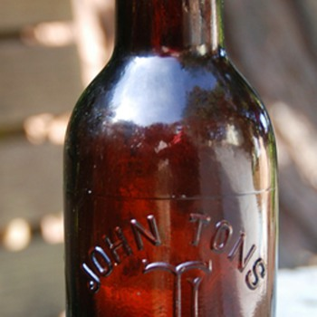 John Tons - Stockton, CA - A very old beer bottle i found recently