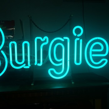 BURGIE! neon - Signs