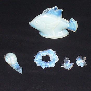 Sabino misty opalescent glass.