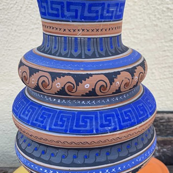 Another Aztec / Mayan Revival Pot - a cool one! - Pottery