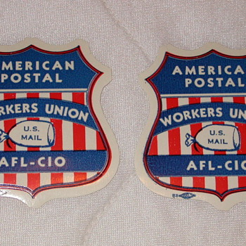 American Postal Workers Union Local 390 Labels - Paper
