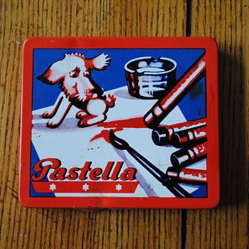 Vintage Pastel Set-Pastella - Advertising