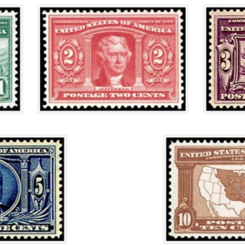 Lousiana Purchase Issue stamps Mint - Stamps