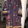 1966 West Point Bathrobe with WWII original patches added