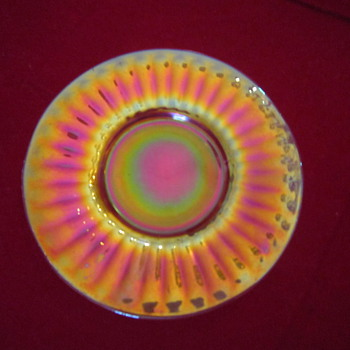 Carnival Glass Imperial Number 499 Pattern Plate S  - Glassware