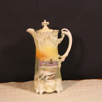 RS Prussia Icicle mold - China and Dinnerware