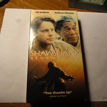 The Shawshank Redemption VHS Movie ( Sealed )