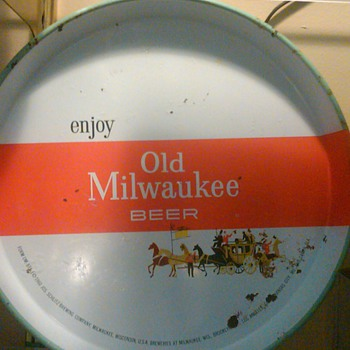 Old Milwaukee Beer Tray