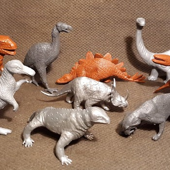 MPC Prehistoric Animals aka Dinosaurs 1960s/1970s - Advertising