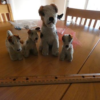 Steiff Terrier Family - Dolls