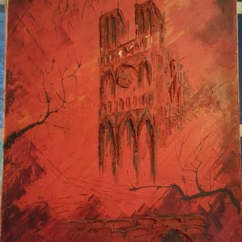Notre Dame Cathedral  - Fine Art