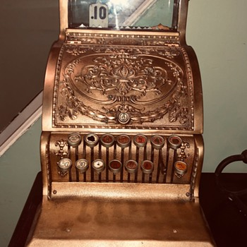 Early 1900s National Cash Register Model 310 - Coin Operated