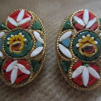 Micro Mosaic - Costume Jewelry