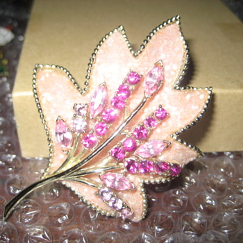Coro Brooch  - Costume Jewelry