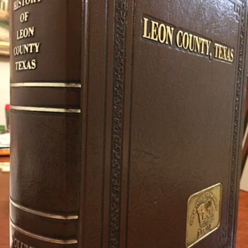 Beautiful -History Of Leon County Texas Vol. 1 Sesquicentennial Edition  - Books