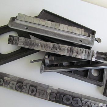 PRINTING PRESS LETTERS