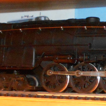Bachman 4-8-4 Santa Fe 3781 H.O. scale - Model Trains