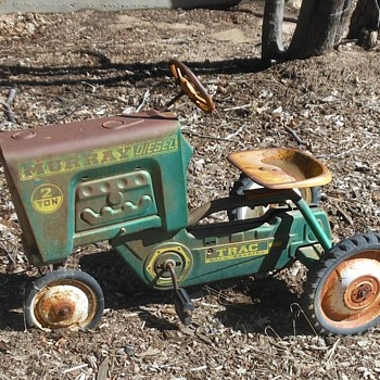 1950s Murray Pedal Tractor - Toys