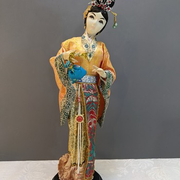Info on these Asian Dolls - Asian