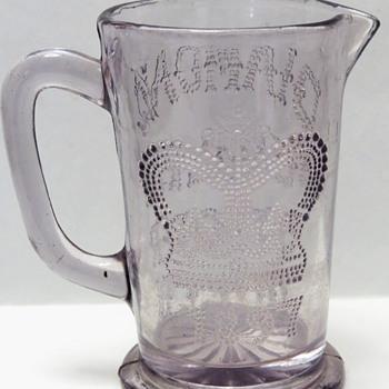 Glass Jug for Queen Victoria's Diamond Jubilee  - Glassware