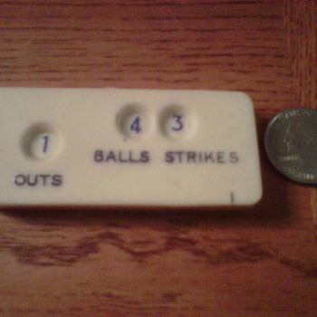 "Vintage ""Baseball Umpire Indicator"""