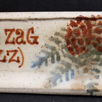 Zig Zag (ZZ) Advertising Sign - Mystery?  - Advertising