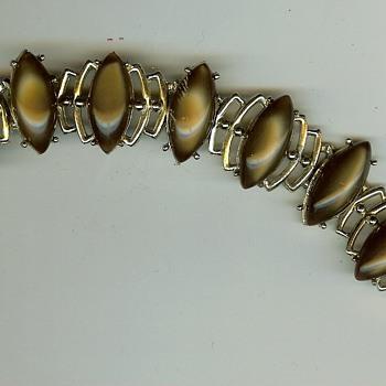 Unknown '60's / '70's ? Stone Link Bracelet