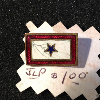 1 Star Sweetheart pin - Military and Wartime