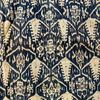 Large Sarong from Indonesia - Rugs and Textiles