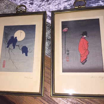 Antique Japanese Prints/woodcuts?? - Asian