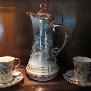 tea set - Asian