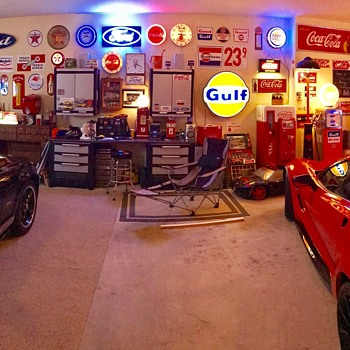 Automobilia , Coca Cola and anything old porcelain. - Advertising