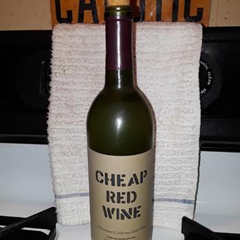 CHEAP RED WINE (bottle) - Bottles