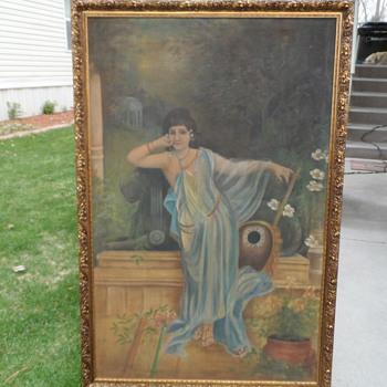 Woman or  Eunuch? artist? - Fine Art