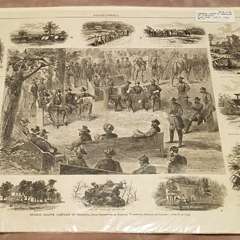 1864 General Grant's Campaign in Virginia  - Military and Wartime