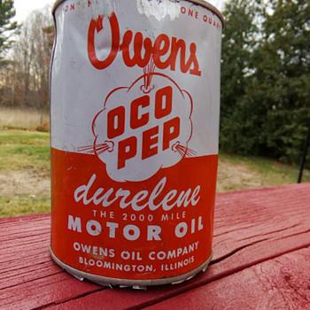 Owens Oco-Pep - Petroliana