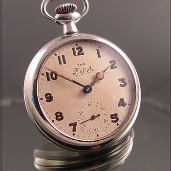 Ingersoll Foresters of America Dollar Pocket Watch - Pocket Watches