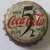 UNUSUAL COCA COLA BOTTLE CAP, CANADA