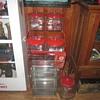 Lance four jar rack with honor box