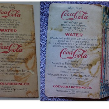 1907 Trade Card Repro - Public Service Announcement! - Coca-Cola