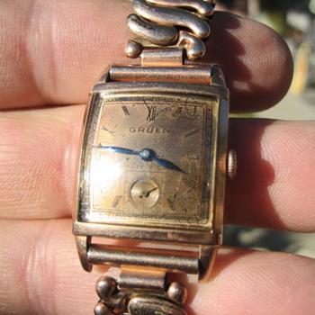Help ID & date My Gruen Watch - Wristwatches