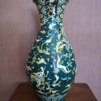 Please help identify maker of vase - Signed on base - Possibly Longwy?