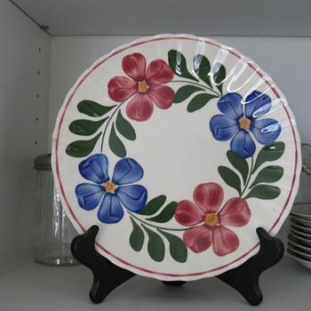 Blue Ridge Pottery, Petunia pattern - China and Dinnerware