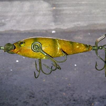 old fishing lure