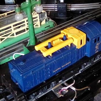 Lionel post-war  Alaska 614 diesel - Model Trains