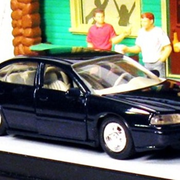 The Chevrolet Impala (NOCTURNAL NIGHTMARE) from the Rembrandt Album of Remastered 1/43rd Scale Automobilia   - Model Cars