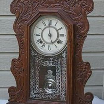 Ansonia Gingerbread Mantel Clock - Clocks