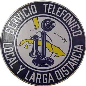 Servico Telefonico Cuba Stick - Signs