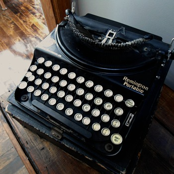 Remington Portable Typewriter